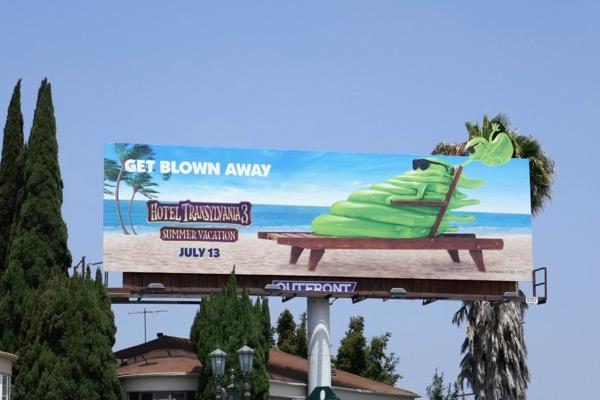 Hotel Transylvania 3 Blobby billboard