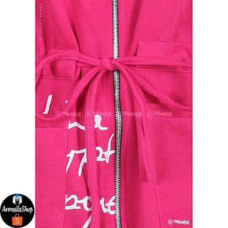 Hijacket Urbanashion ROSE PINK JAKET HIJAB Muslimah