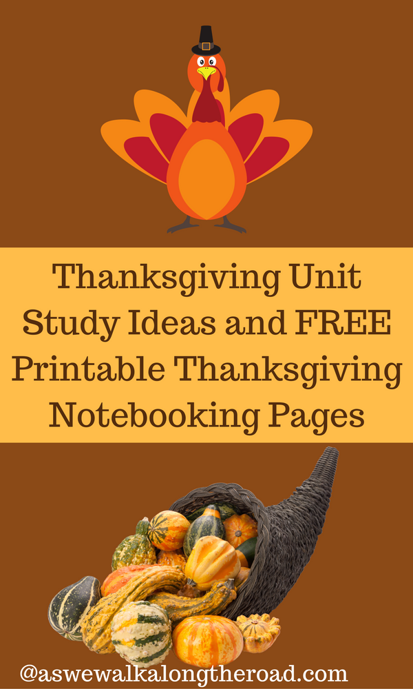 Thanksgiving unit study for kids