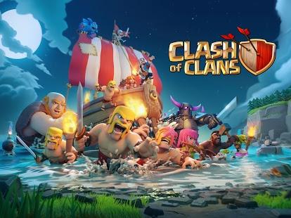 Download Clash of Clans MOD APK Game Unlimited Gems Gold Elexir