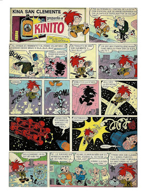 Kinito, por Ibáñez, Din Dan nº 96