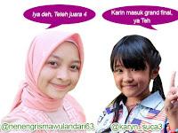 Artis Indonesia Cantik, Imut Karin Dan Geulis Risma