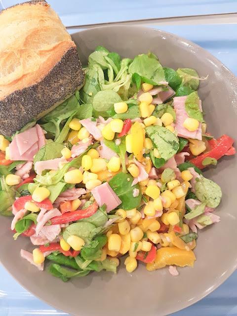 saladerie - bar a salades - salades personnalisees - salades personnalisables - manger sainement - pause dejeuner - repas equilibre