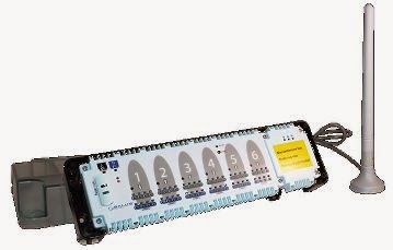 Station de pilotage pour Thermostat Salus sans fil programmable pour plancher chauffant sec mince
