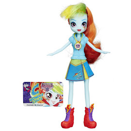 MLP Equestria Girls Friendship Games School Spirit Rainbow Dash Doll