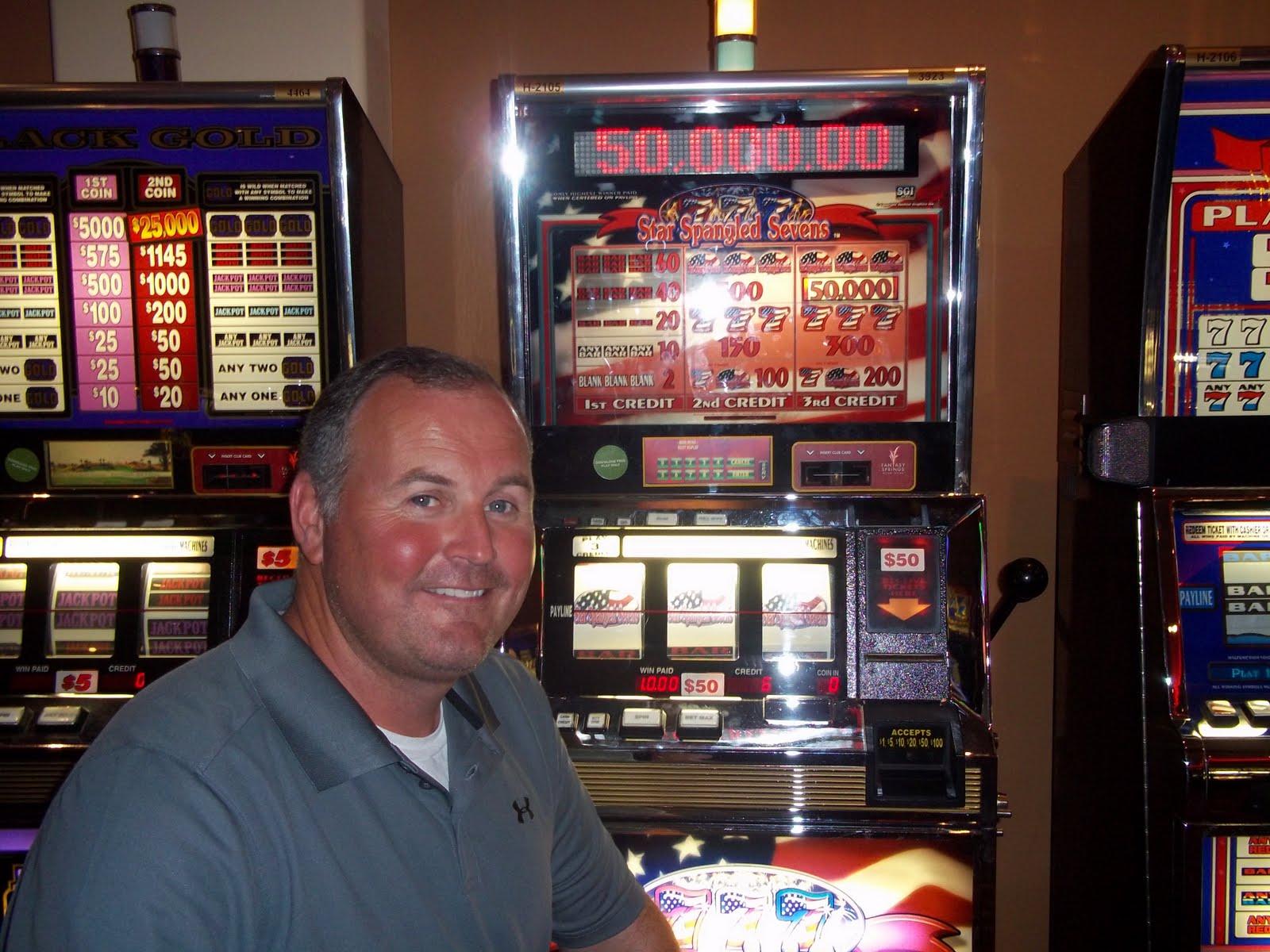 casino slot machine winner