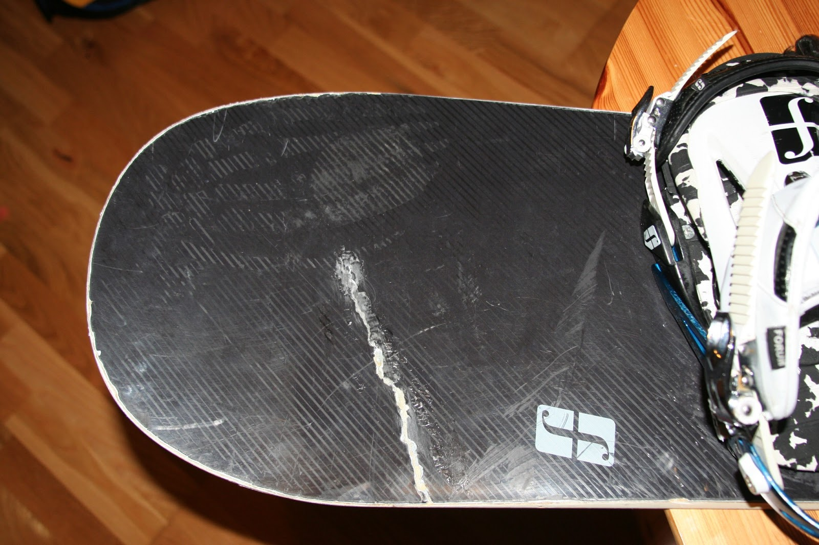 Cracked Snowboard Fix