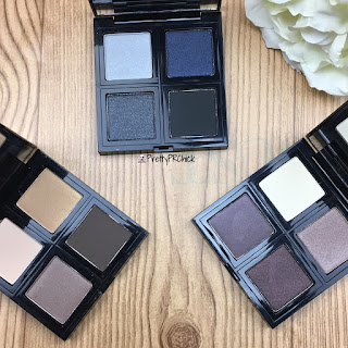 The Body Shop Down to Earth Eyeshadow Quads #Swatches