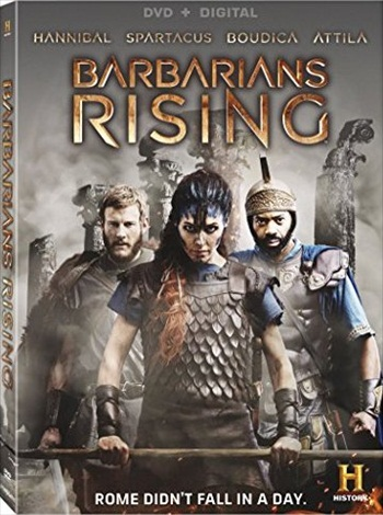 Barbarians Rising Part 1 Resistance 2016 HDTV 250Mb Dual Audio 480p