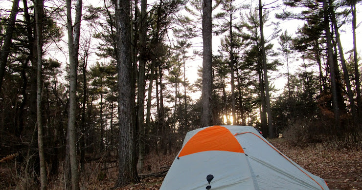 A quick overnight at Kohler-Andrae State Park