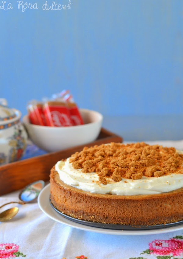 Lotus Cheesecake sin lactosa