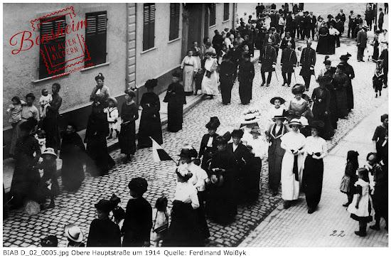 BIAB D_02_0005.jpg Obere Hauptsstraße, Jahrhundertwende, Bild zur Verfügung gestellt von Ferdinand Woißyk