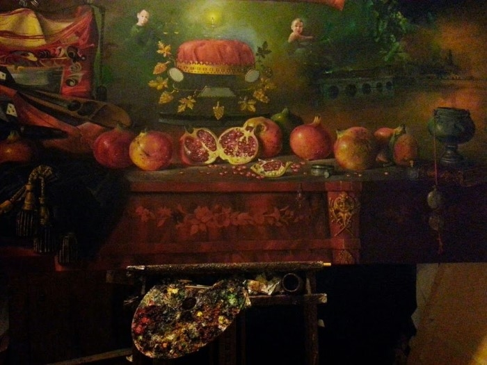 Сербский художник-реалист. Dusan Jovanovic 7
