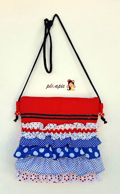Bolso flamenco Bea. Pikapic