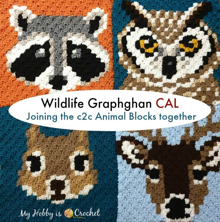 Joining c2c Animal Blocks together - Wildlife Graphghan