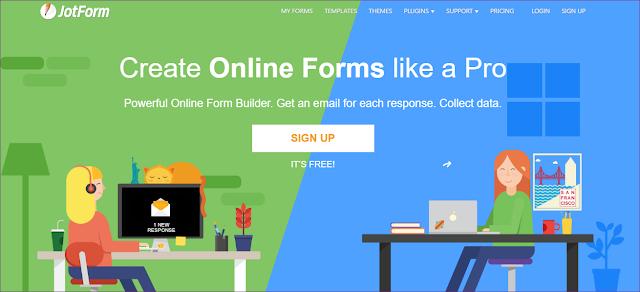 Tạo trang đăng bài cho công tác viên bằng JotForm