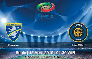 Prediksi Frosinone vs Inter Milan 15 April 2019