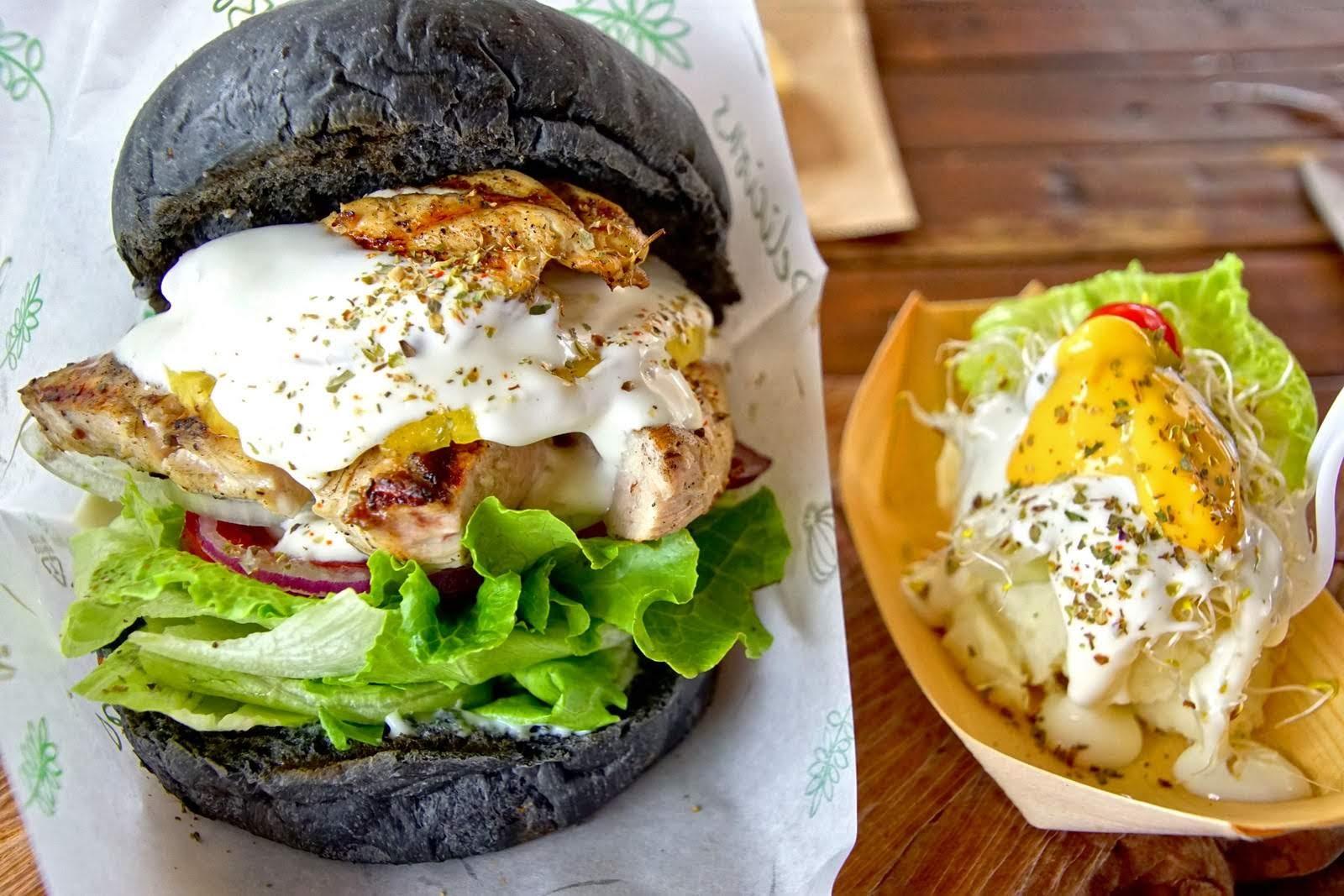 [台南][安南區] 木漢堡Ⅱ|再訪拉阿魯哇的黑色漢堡|食記