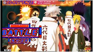Game Boruto Senki Mod Apk v1.17 All Character Terbaru