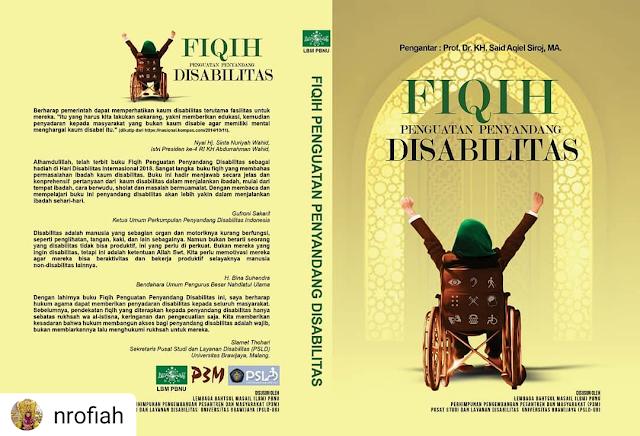 """Difabel dan Disabel, Membaca Buku """"Fiqih Penguatan Penyandang Disabilitas"""""""