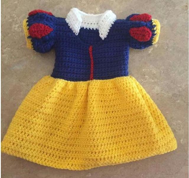 örgü ile bebek elbisesi yapımı