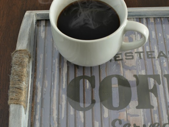 Upcycled Farmhouse Coffee Tray
