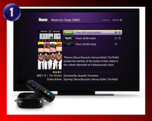 Roku Number One Top Media Server for Streaming