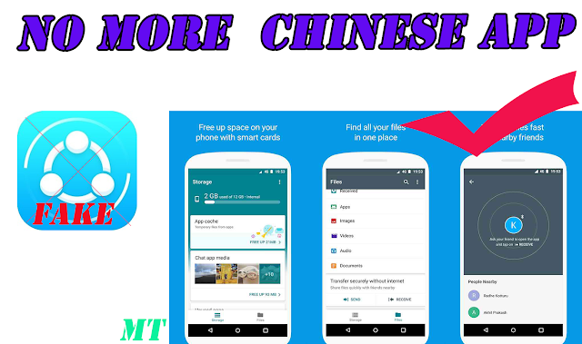 No more Chinese app- Google launch first file sharing app