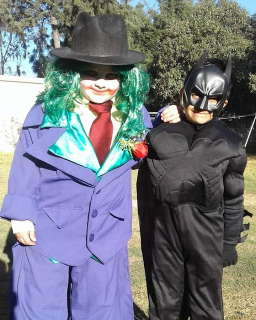 GUAZON Y BATMAN