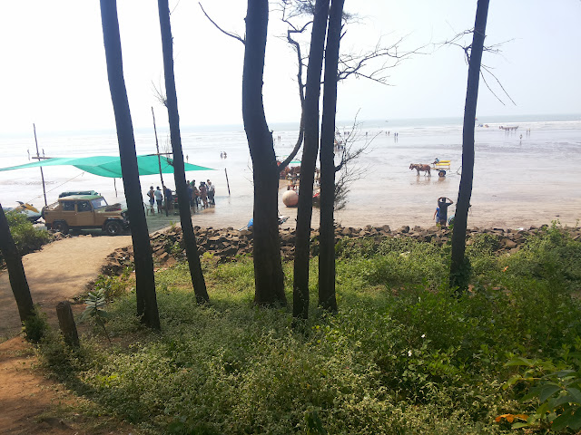 A trip to Kashid, Alibaugh, Nagaon Beaches