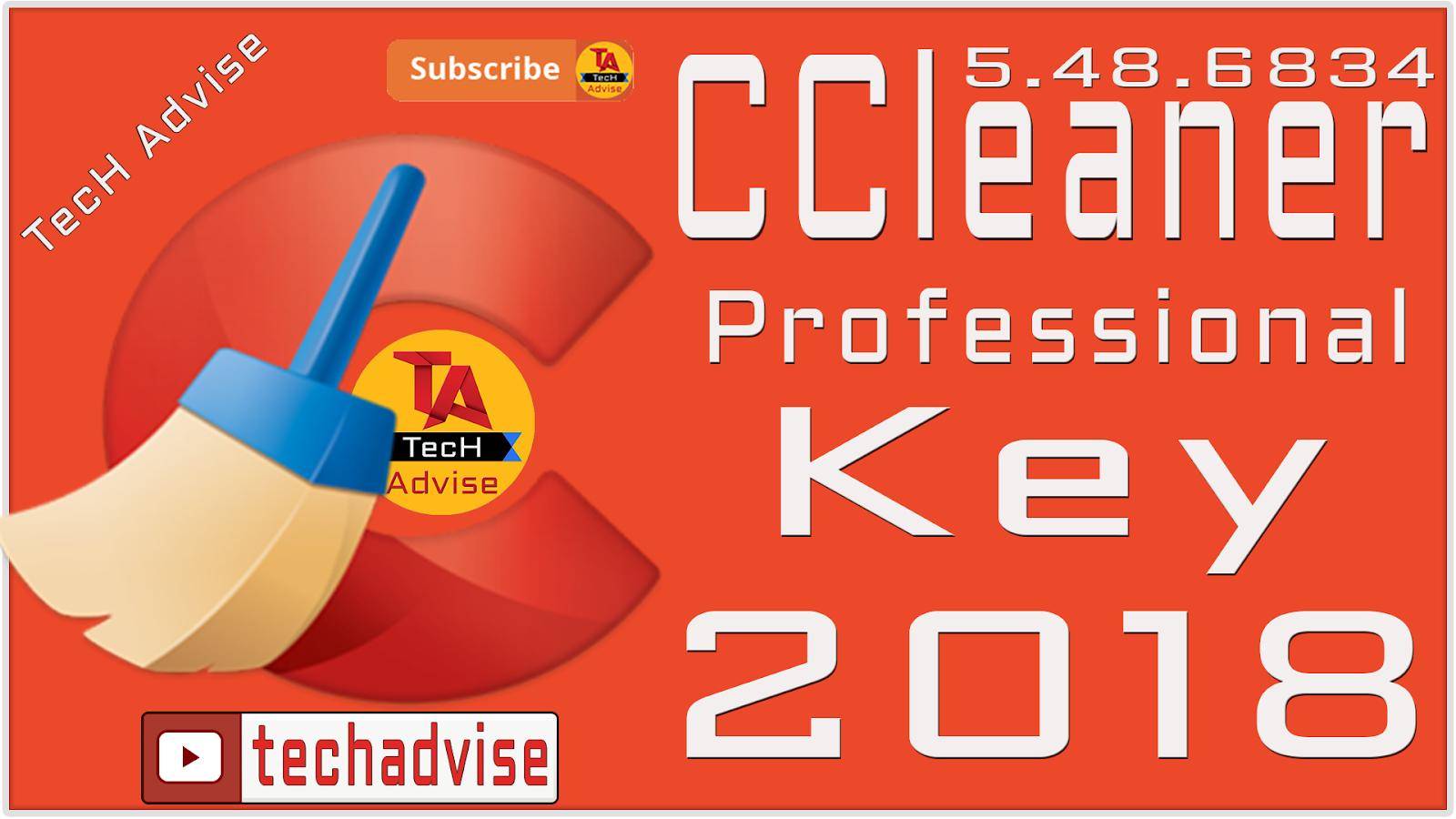 CCleaner Pro v5.48.6834 license key Registered [100% ...