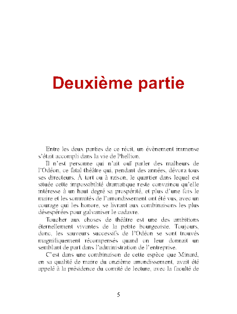 Les Petits Bourgeois en pdf d'Honoré de Balzac