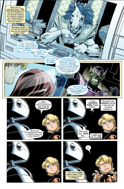 Read online Skrulls vs. Power Pack comic -  Issue #2 - 4