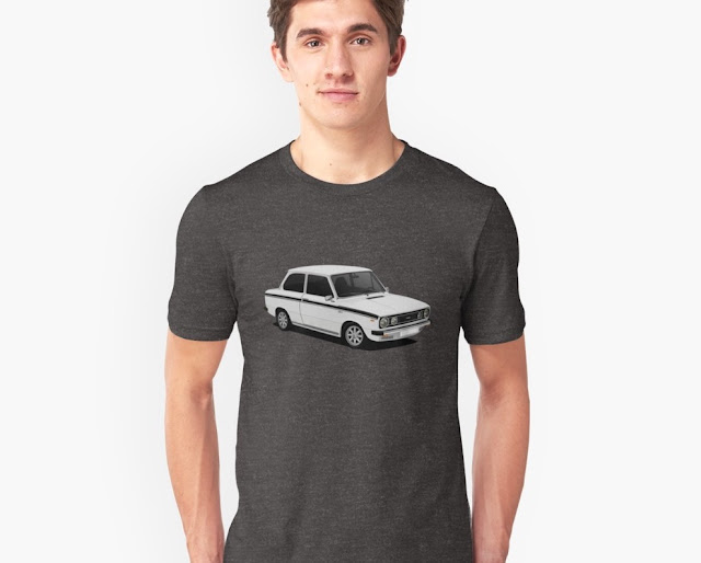 DAF 66 1300 Marathon, classic car,  T-shirt