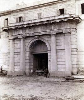 castello sforzesco cagnola portale parco sempione