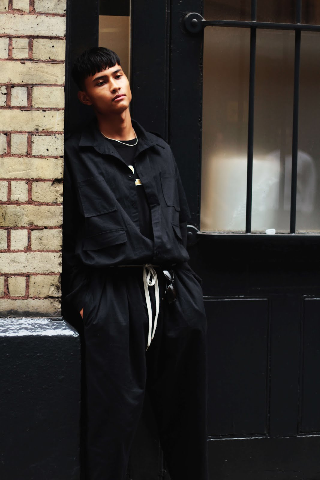 benji colson london fashion week street style