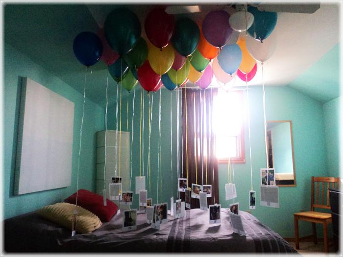 Un regalo muy original de cumplea os somosdeco blog de - Ideas para sorprender en un cumpleanos ...