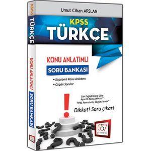 657 Yayınları KPSS Türkçe Konu Anlatımlı Soru Bankası 2017