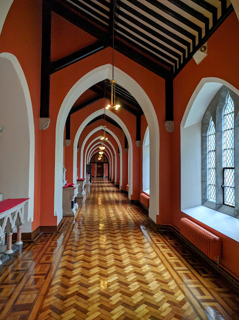 Hallway at St. Patrick's College in Maynooth, Ireland