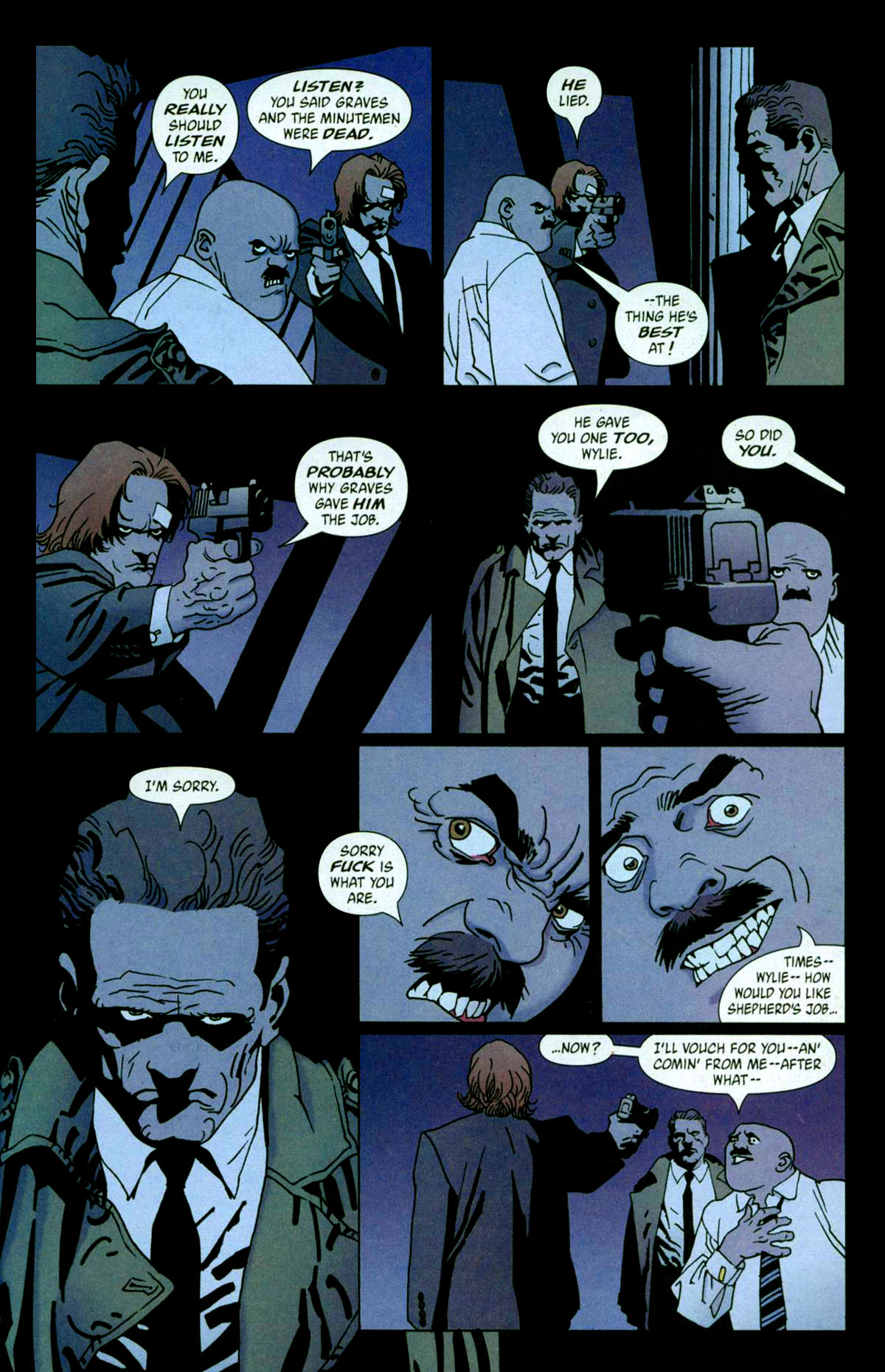 Read online 100 Bullets comic -  Issue #56 - 18