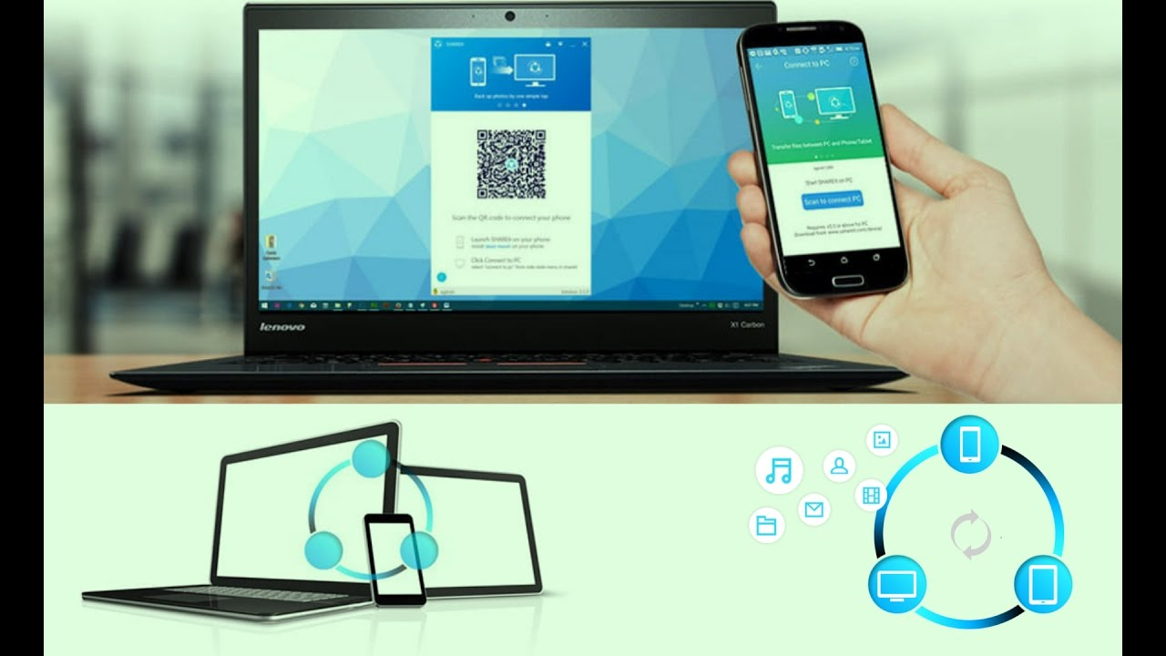how to connect pc to mobile