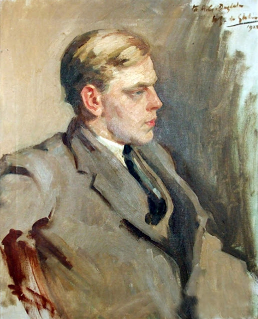 Portrait of men, Wilfrid Gabriel de Glehn, International Art Gallery, Self Portrait, Art Gallery, Wilfrid Gabriel, Portraits of Painters, Fine arts, Self-Portraits, Painter Wilfrid Gabriel de Glehn