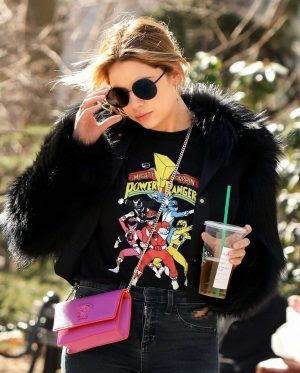 Ashley Benson in Tight Jeans out in New York