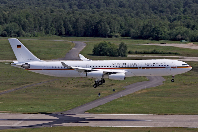 Airbus A340-300 German VIP Transport