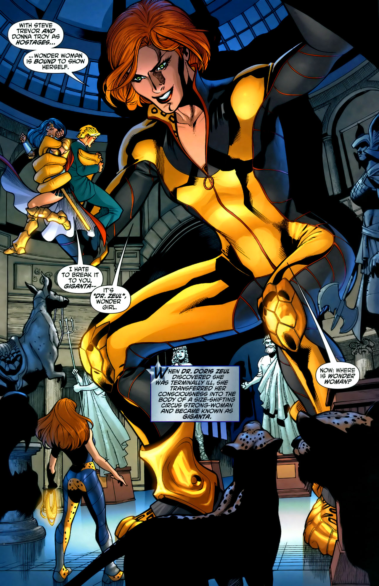 Read online Wonder Woman (2006) comic -  Issue #1 - 13