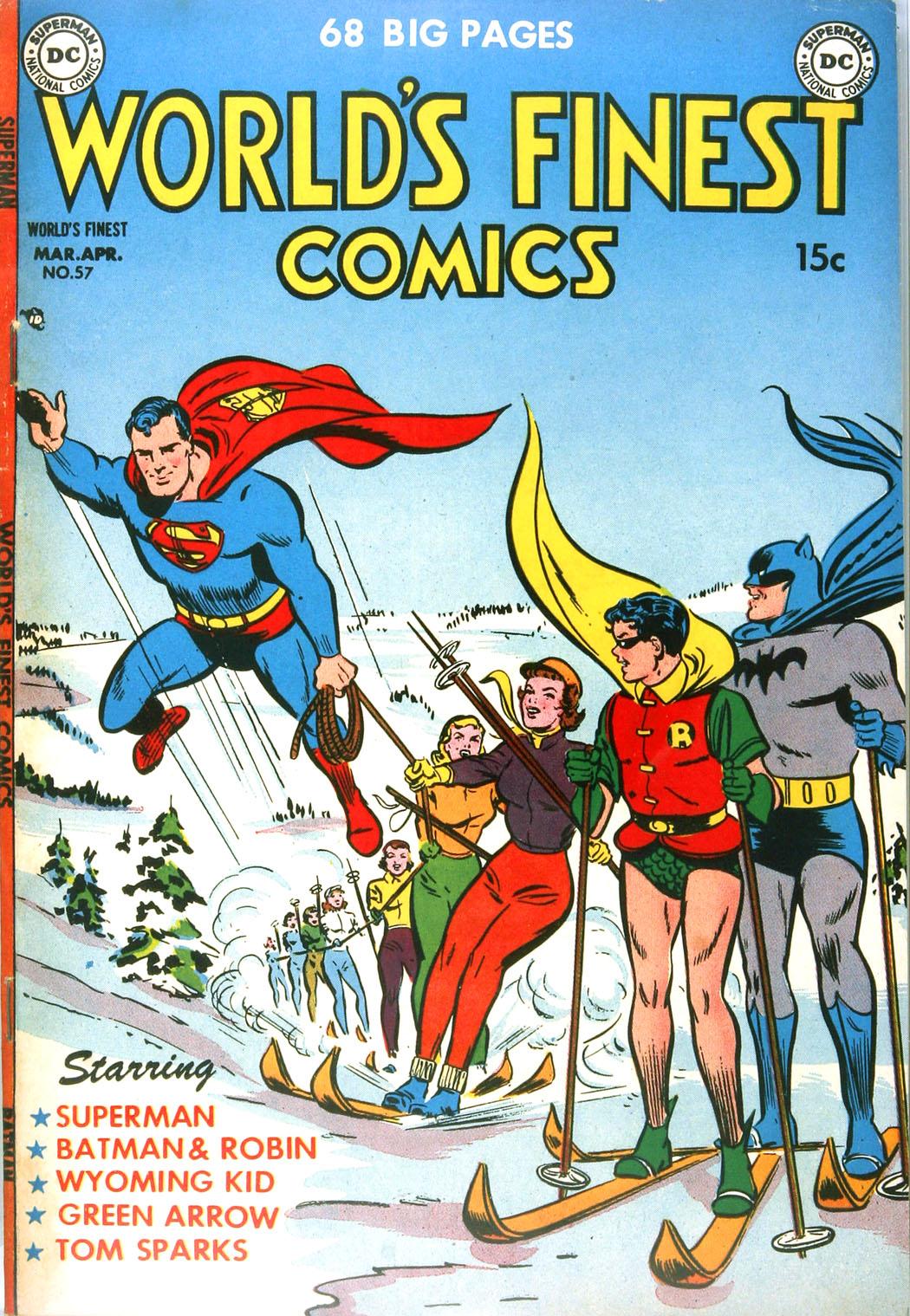 Read online World's Finest Comics comic -  Issue #57 - 1
