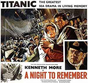 A night to remember / Poster, un film de Roy Ward Baker