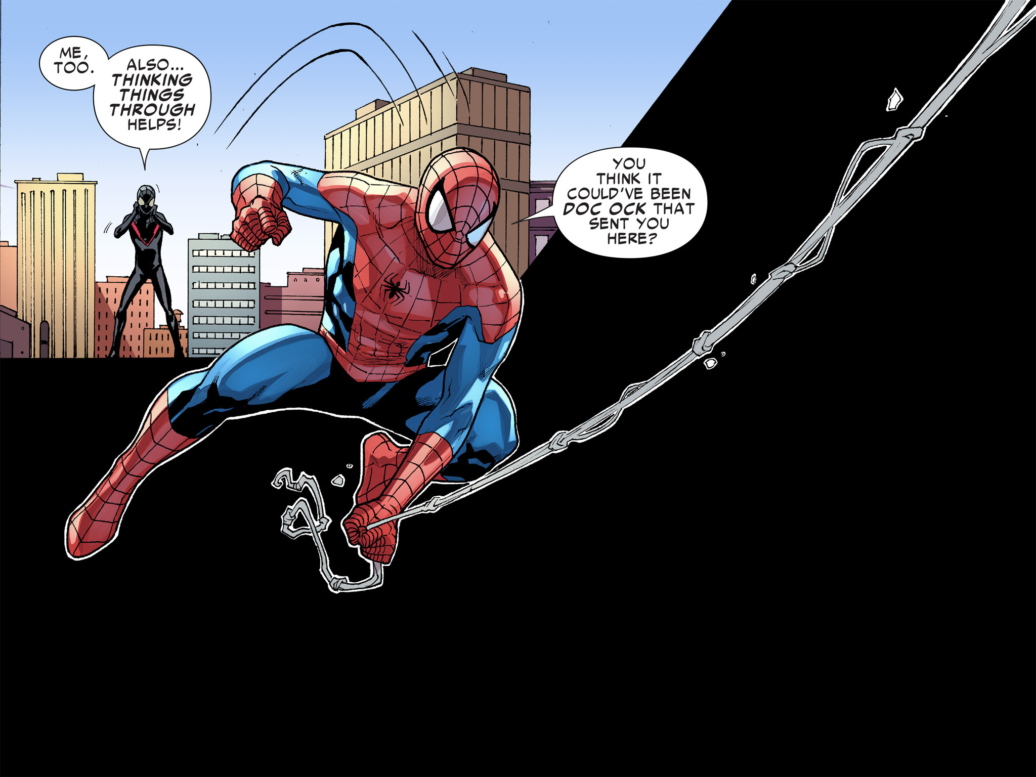 Read online Ultimate Spider-Man (Infinite Comics) (2016) comic -  Issue #8 - 22