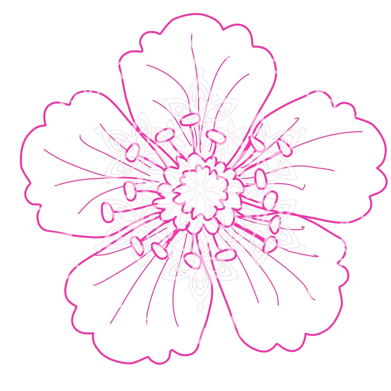 Magenta Snowflake Designs : Flower Easel Card - Thursday ...