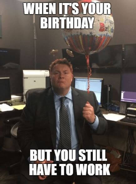 Funny Happy Birthday Meme For Coworker : Funny happy birthday memes for friends and family